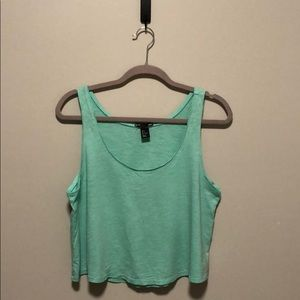 H&M basic crop tank